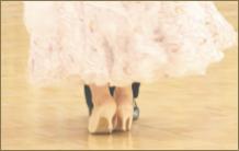 ダンスを教わる